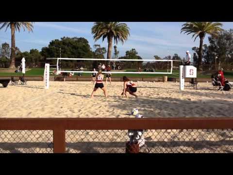 Stanford vs Santa Clara Sand Volleyball 2's match