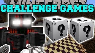 Minecraft OUTCAST CHALLENGE GAMES Lucky Block Mod Modded Mini Game