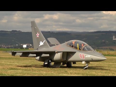 Russian Air Force Yakovlev Yak-130 AWESOME R/C Scale Turbine Model-Jet