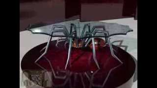 Furniture Review: Spider-assf Contemporary Glass Coffee Table