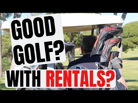 Can You Play Good Golf... With Rental Clubs?... Taylormade M6 Rental Clubs? AMAZING GOLF COURSE!