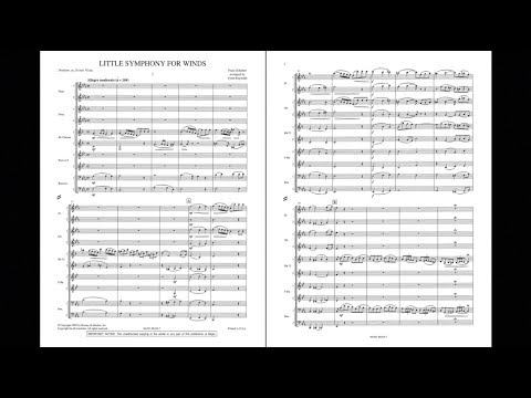 Little Symphony for Winds by Franz Schubert/arr. Verne Reynolds