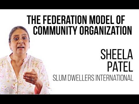 S03E01 Sheela Patel - The federation model of community organizing