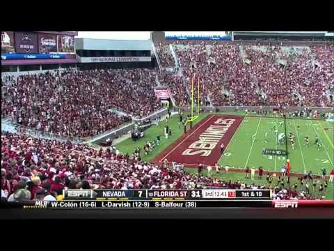 Nevada vs FSU 2013 Football Game in HD