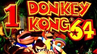 Let's Play Donkey Kong 64 [German/101%] Part 1: K. Rool ist zurück!