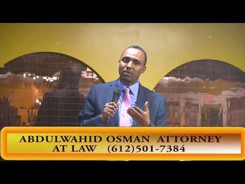 Deg Deg Abdiwahid Osman oo ka hadley sharciyada Immigration ka
