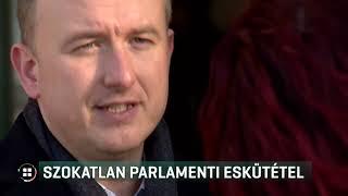 Megváltoztatta az esküszöveget a DK új parlamenti képviselője 19-12-03