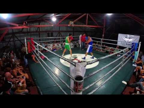 Fight Club San Juan Del Sur Nicaragua Nov 26 2016 Ceviche v Adam
