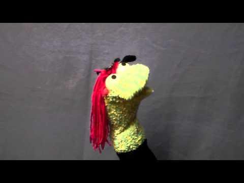 Girl Sock Puppet