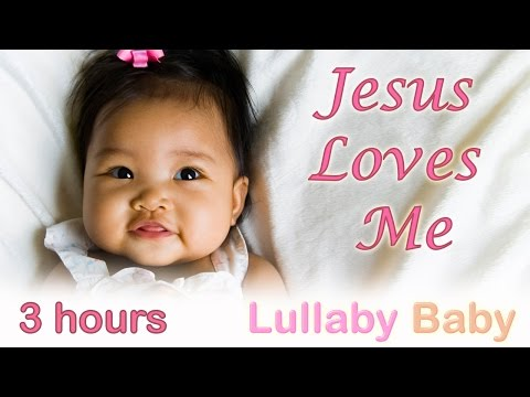 ☆ 3 HOURS ☆ JESUS LOVES ME ♫ Instrumental MUSIC BOX ☆ Baby Bedtime Sleeping Music ♫ Music For Babies