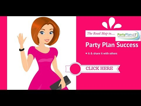 Registration is OPEN - The Road Map to Party Plan Success (home study course + $1000 BONUSES)