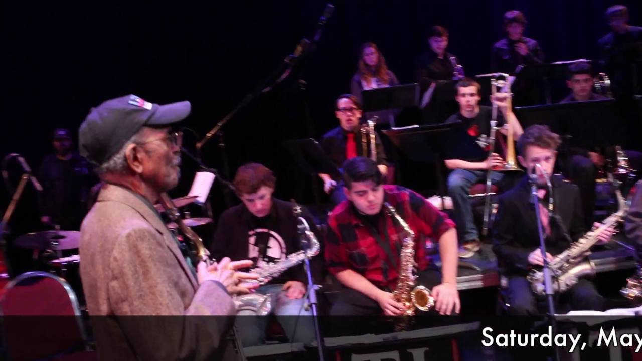 Facebook Live!   Jimmy Heath & the Tucson Jazz Institute Ellington Band May 28 3pm EST