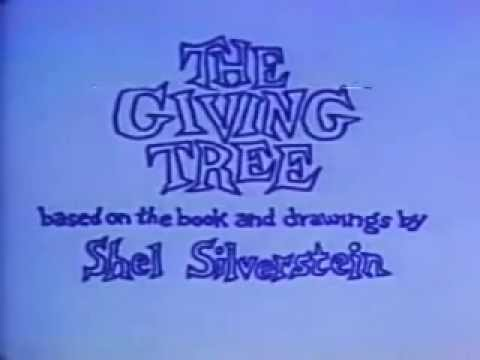 The Giving Tree Movie Spoken By Shel Silverstein 1973