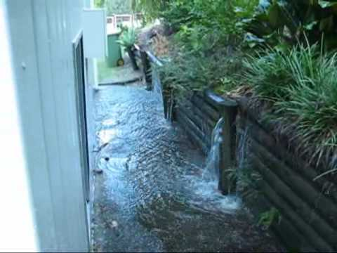 How to Deal With Water Runoff From a Neighbor's Property