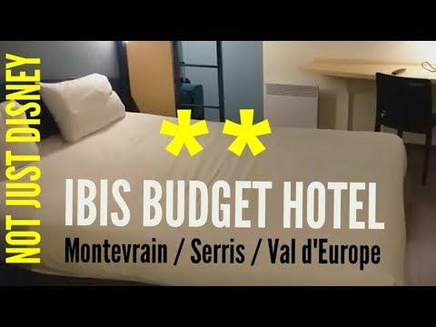 IBIS BUDGET HOTEL Serris Montevrain Val D'Europe For Disneyland Paris