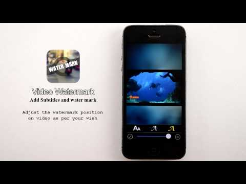 Video Watermark App-Add Watermark to Videos with our Mobile App for both iOS and Android Platform
