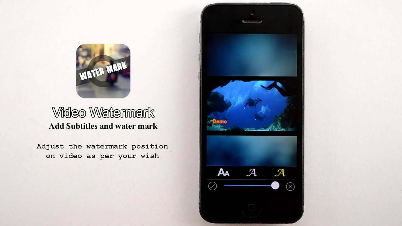 Video watermark app add watermark to videos with our mobile app for video watermark app add watermark to videos with our mobile app for both ios and android platform youtube ccuart Gallery