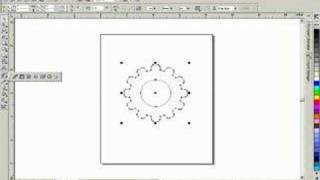 COREL TRICKSTER: how to draw a gear