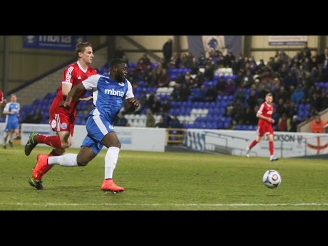Chester FC striker James Alabi scores 4 goals in first 45 minutes