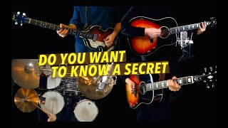 Download lagu Do You Want To Know A Secret - Guitar, Bass and Drums - Instrumental Cover