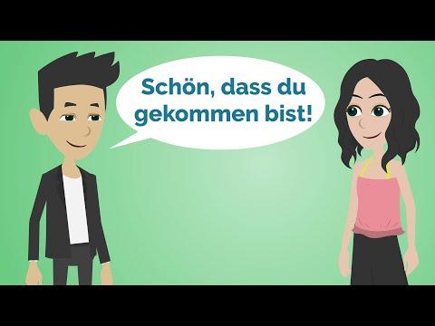 Deutsch lernen | Meine Freundin besucht mich