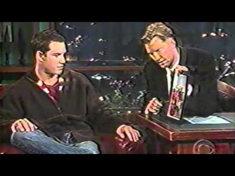 MarkPaul Gosselaar on The Late Late  with Craig Kilborn