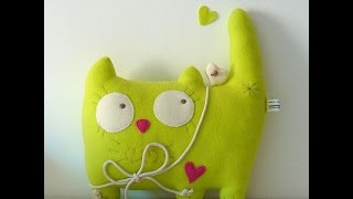 Сшить мягкую игрушку куклу, симпатичные мартовские котики