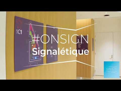 Signalétique, Vitrophanie et dispositif acoustique de SOCIÉTÉ DU GRAND PARIS sur le Bâtiment MOODS