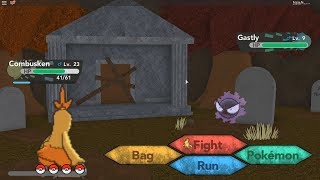 Pokemon Brick Bronze Roblox: Tenemos a Gastly #5