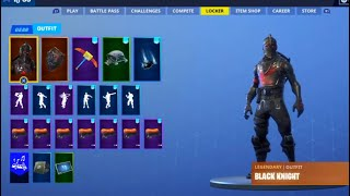 My Stacked *OG* $10000 Fortnite Account (over 132 skins!!)