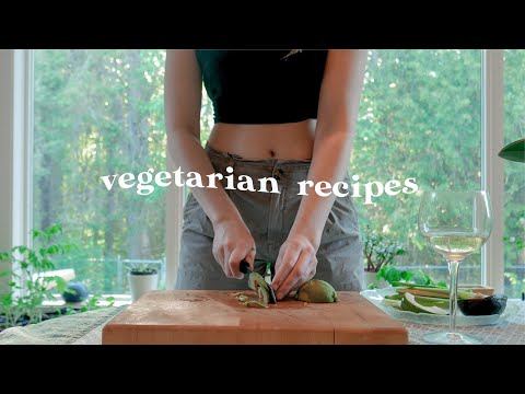 Healthy Plant Based Meal Ideas! *easy vegetarian cooking*