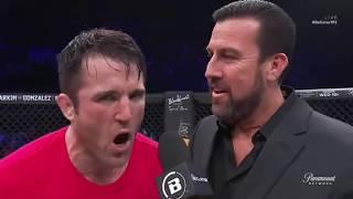 Chael Sonnen - Funny interview post fight vs Rampage Bellator 192