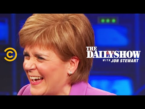 The Daily Show - Nicola Sturgeon