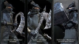 Top 8 Bloodborne weapons