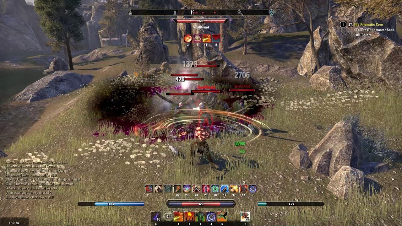 Elder Scrolls Online Gameplay 2018 Youtube