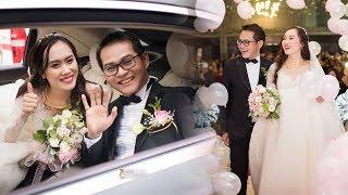 TOÀN CẢNH lễ cưới lãng mạn của NSND Trung Hiếu và cô dâu 9X ở Sơn La