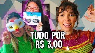 COMPRINHAS NA LOJA DE R$ 3,00 REAIS