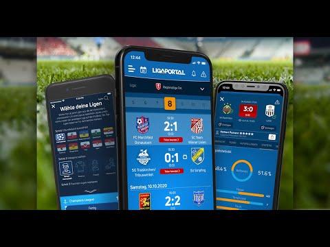 League portal football live ticker