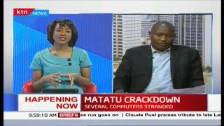 MATATU CRACKDOWN: PSV operators withdraw services | #MichukiRules