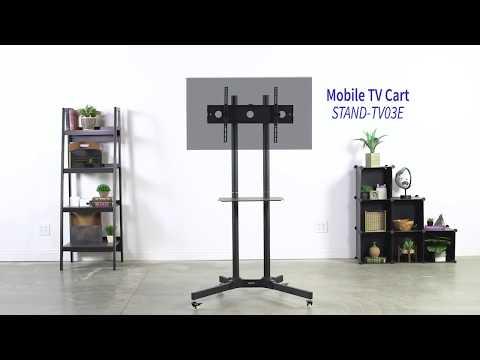 STAND-TV03E Mobile TV cart by VIVO