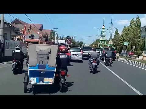 Keliling Kota LHOKSEUMAWE (LHOKSEUMAWE CITY, NORTH ACEH, INDONESIA) Dashcam