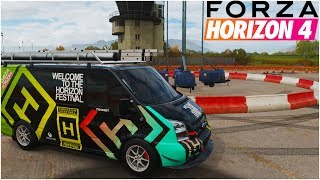 WOULD YOU TRAVEL TO WORK IN THIS 230MPH FORD TRANSIT VAN?? - Forza Horizon 4 Gameplay