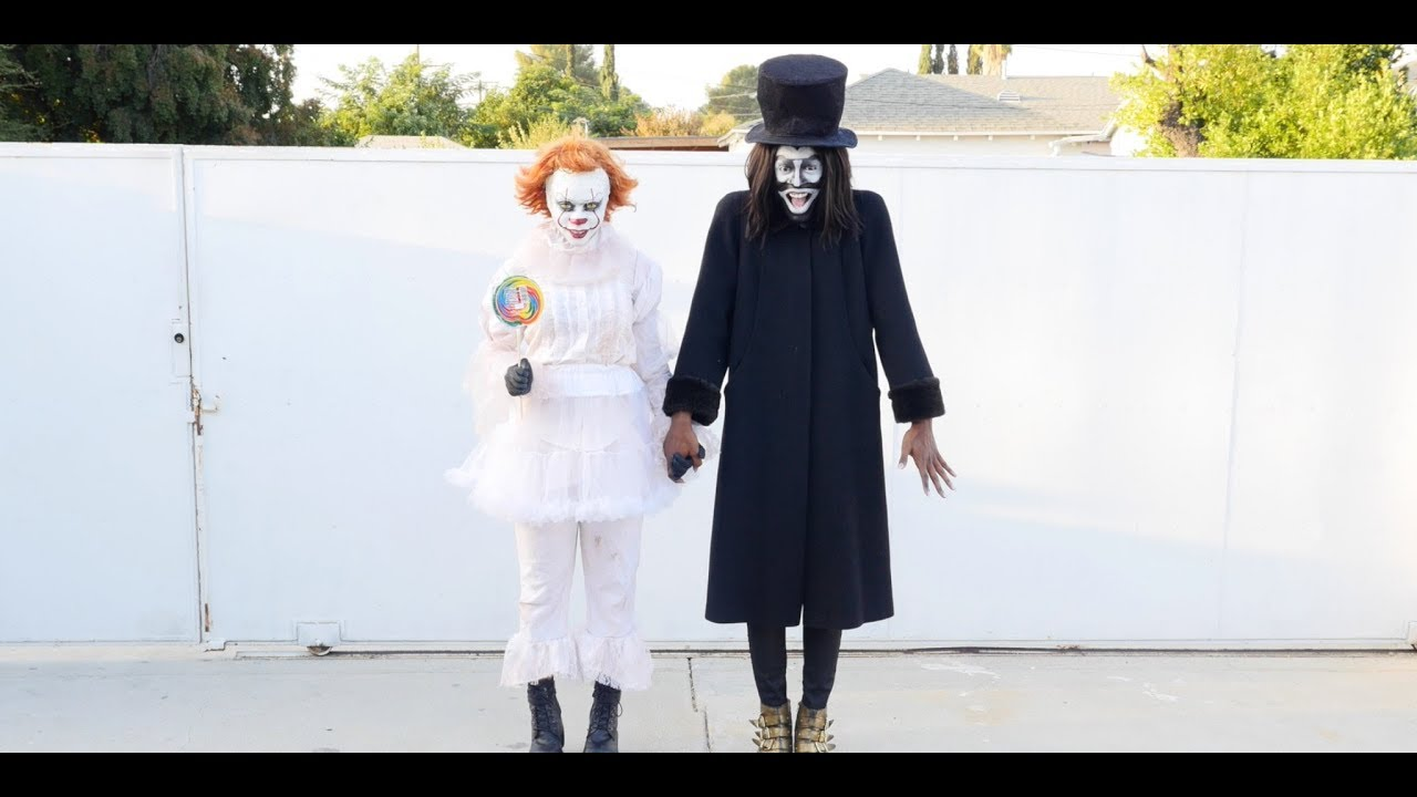 BABADOOK+PENNYWISE: A LOVE STORY( Their Bestfriends: Miles and Tima) Back in 2017