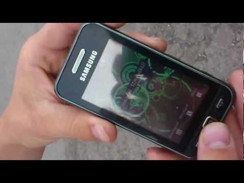 Samsung S5230 törés test (1.)
