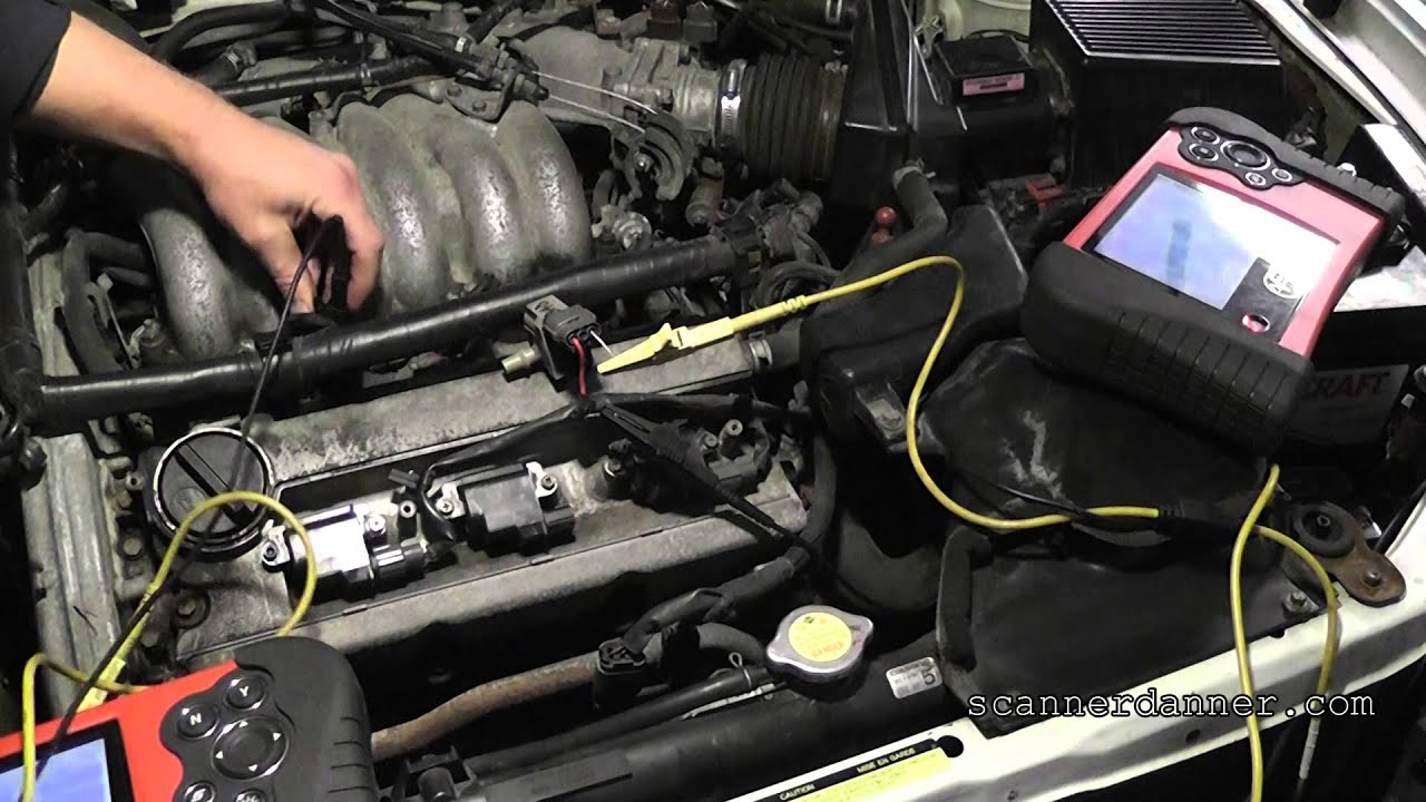 How To Test An Ignition Coil With A Light Nissan Cop Design Vg30e Engine Diagram Youtube