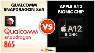 Apple A12 Bionic Chip vs Snapdragon 865 🔥 | Battle of Beasts? 🤔🤔| Snapdragon 865 vs Apple A12🔥
