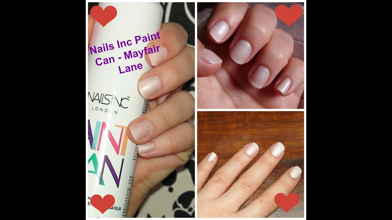 Nails Inc Paint Can Tutorial / Review - Mayfair Lane - YouTube