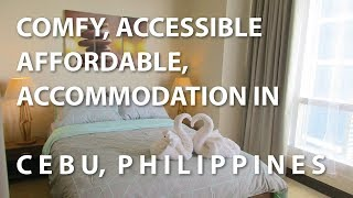 WHERE TO STAY in CEBU Philippines (Comfortable and Affordable Accommodation in Cebu)