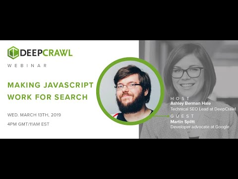 Webinar Recap: Making JavaScript Work for Search with Martin