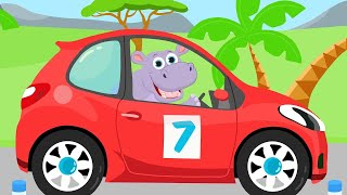 Download Машинки 2 - Кто в машине едет помоги нам угадай. Детская песенка про животных Mp3 and Videos